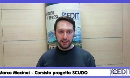 """Marco Macinai: """"Dopo SCUDO sogno un futuro nella cyber security"""""""