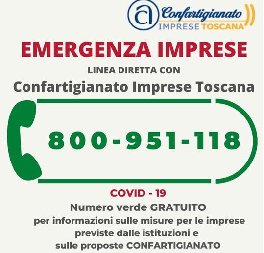 Emergenza Coronavirus: numero verde