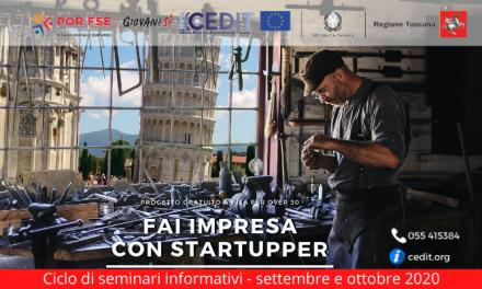 """Fare imprenditoria: ciclo di seminari web con """"Startupper 4.0"""""""