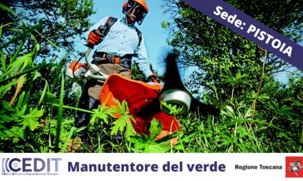 Manutentore del verde, corso a Pistoia