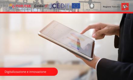 """""""Digitalizzazione e innovazione"""", seminario online gratuito l'11 e 13 novembre"""