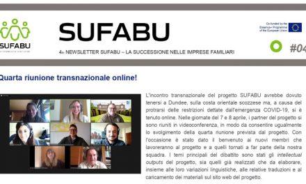 Sufabu, online la quarta newsletter sul progetto europeo